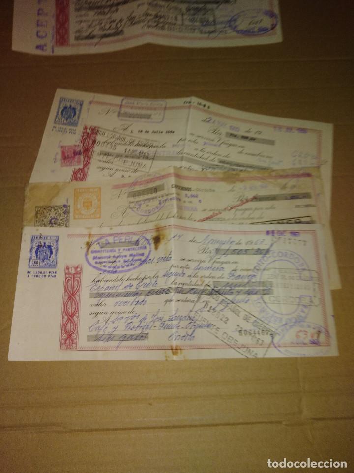 Facturas antiguas: excelente lote confiteria la perla cordoba 1961 - 65 - Foto 7 - 168815608