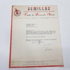 Facturas antiguas: FACTURA - VIUDA BERNARDO ALONSO - PALENCIA - TDKP14. Lote 171208270