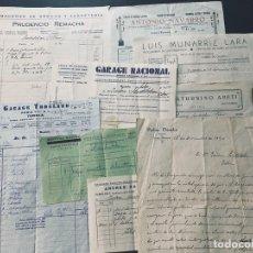 Facturas antiguas: TUDELA ( NAVARRA ) 7 ANTIGUAS FACTURAS DISTINTAS AÑOS 1932 - 1934. Lote 175715938