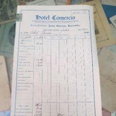 Facturas antiguas: ANTIGUA FACTURA HOTEL COMERCIO GUADIX GRANADA 1951. Lote 176732927