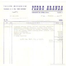 Facturas antiguas: LOTE 3 FACTURAS ANTIGUAS REPARACION MANTENIMIENTO SEAT 600 ORIGINALES AÑOS 1964 - 1965 OFERTA LEER !. Lote 178274517