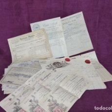 Facturas antiguas: GRAN LOTE DE UNAS 150 ANTIGUAS FACTURAS, DESDE 1905, ALGUNAS MANUSCRITAS. Lote 178602231