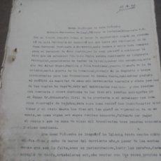 Facturas antiguas: PRESUPUESTO PARA REALIZAR OBRAS EN LA PARROQUIA SAN ANTONIO DE PADUA , PARTALOA ALMERÍA 1948. Lote 180029511
