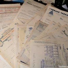 Faturas antigas: LOTE DE 100 FACTURAS DIFERENTES FECHAS. Y NEGOCIOS. ALGUNAS REPETIDAS. Lote 185742330