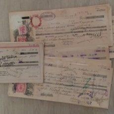 Facturas antiguas: PAGARES. Lote 191795462