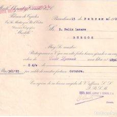 Facturas antiguas: ANTIGUA FACTURA. TEXTIL MARTÍ, LLOPART Y TRENCHS .BARCELONA AÑO 1926. Lote 195103308