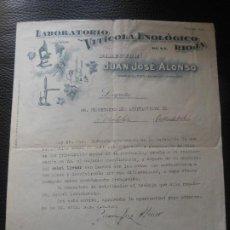 Fatture antiche: FACTURA DE CADIZ SALINAS SAN FERNANDO - JOSE FERNANDEZ QUIJANO 1906. Lote 197304782