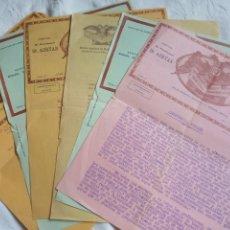Facturas antiguas: LOTE 7 FACTURAS AÑOS 20 EPOCA ALFONSO XIII INSTITUTO CIENTÍFICO PSIQUIATRICO MADRID.MEDICINA.MEDICO.. Lote 197888588