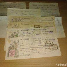 Facturas antiguas: FACTURAS DOCUMENTO CONSTANTINA SEVILLA TENA FABRICA AZUCAR CARAMELO ESTUCHADOS. Lote 206537471