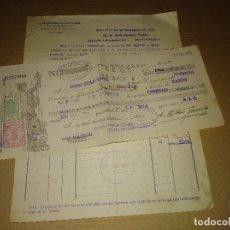 Fatture antiche: FACTURA/LETRA VINO MONTILLA CORDOBA A.MATIAS GARCIA DE LA PUERTA 1928. Lote 207171507