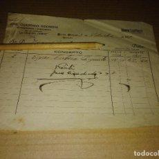 Facturas antiguas: FACTURA FUENTE OBEJUNA CORDOBA CERVEZA LA CRUZ DEL CAMPO CRUZCAMPO 1929 9. Lote 210190813