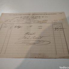 Facturas antiguas: FACTURA ANTIGUA 1901 JOSÉ ROSET. Lote 210254896