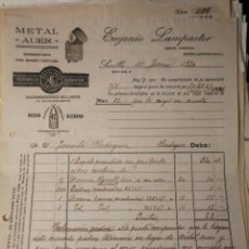 Facturas antiguas: EUGUENIO LAMPARTER. SEVILLA 1920. Lote 217482151