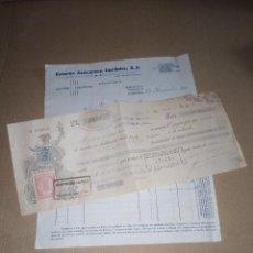 Facturas antiguas: FACTURA / LETRA AZUCAR ESTUCHADO ESTUCHE AZUCARERO CORDOBA S.A 1939. Lote 220069966