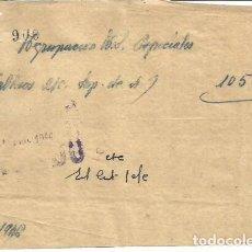 Facturas antiguas: AGRUPACIÓN BL.D. ESPESIALES? 22 ABRIL 1946. Lote 222069208