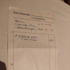 Facturas antiguas: ANTIGUA FACTURA ALEMANA DE 1967 - DE TIENDA DE RADIOS-. Lote 243910985