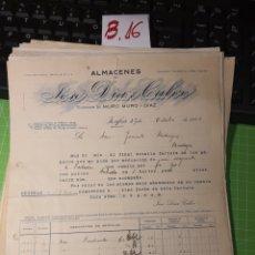 Facturas antiguas: JOSÉ DÍAZ CALVO .ZAFRA .BADAJOZ 1923. Lote 246055870