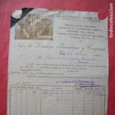 Facturas antiguas: HIJOS DE DOMINGO IZURRATEGUI.-HIERROS.-FERRETERIA.-FACTURA.-JAEN.-AÑO 1923.. Lote 257886310