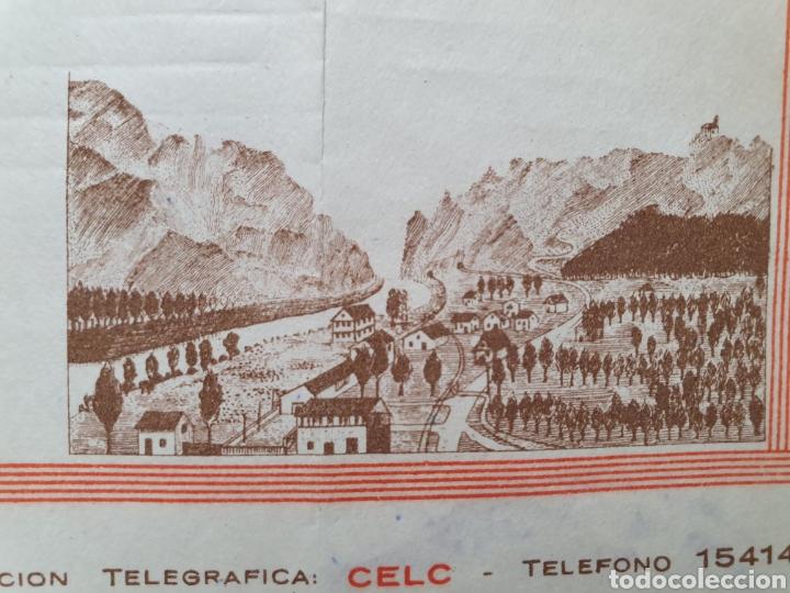 COMPAÑIA EXPLOTADORA LAS CONCHAS. CANTERAS SAN FELICES. HARO, LA RIOJA. FACTURA 1953. (Coleccionismo - Documentos - Facturas Antiguas)