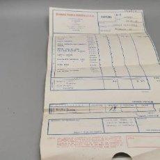 Facturas antiguas: FACTURA BODEGAS FRANCO ESPAÑOLAS AÑO 1968. Lote 271134713