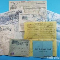 Factures anciennes: DOCUMENTOS JESUS Mª ZULOAGA, BAZAR MEDICO ZARAGOZA 1913, VER DESCRIPCION E IMAGENES, JACA. Lote 276372783