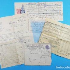 Factures anciennes: DOCUMENTOS MARTIN Y DURAN, ESPECIALIDADES FARMACEUTICAS MADRID 1913,VER DESCRIPCION E IMAGENES, JACA. Lote 276377903