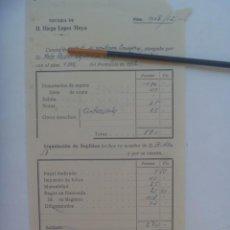 Facturas antiguas: FACTURA DE NOTARIO . SEVILLA, 1952. Lote 277226078