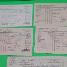 Facturas antiguas: ANTIGUOS RECIBOS DE LA ACADEMIA VALDEMORO RIPOLLES...BURGOS...1983 Y 84..... Lote 280570043