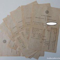 Facturas antiguas: 7 DOCUMENTOS / COLEGIO DE LAS RELIGIOSAS DE JESÚS-MARÍA - CUENTA DE GASTOS / BARCELONA 1919 1921 .... Lote 288197518