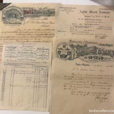 Fatture antiche: 4 DOCUMENTOS ANTIGUOS. MALLORCA. CARTAS COMERCIALES Y FACTURAS (FA00001). Lote 289910733
