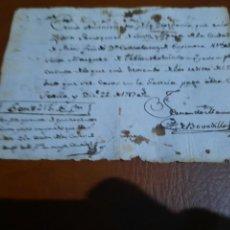 Facturas antiguas: FACTURA DEL 1700.. Lote 294075228