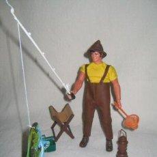 Figuras de acción - Big Jim: BIG JIM-PESCADOR MATTEL MAGIC CARS. Lote 24747822