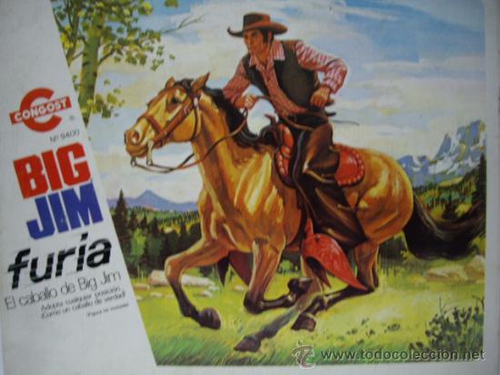 CABALLO FURIA DE BIG JIM CONGOST EN CAJA,NUEVO (Juguetes - Figuras de Acción - Big Jim)
