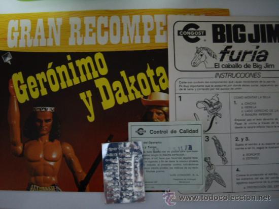 Figuras de acción - Big Jim: Caballo Furia de Big Jim Congost en caja,nuevo - Foto 3 - 135947826