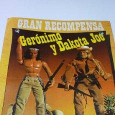 Figuras de acción - Big Jim: BIG JIM. POSTER-CATÁLOGO ORIGINAL PROMOCIONAL. CONGOST. AÑO 1974. 44 X 31 CTMS.. Lote 27487584