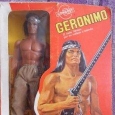 Figuras de acción - Big Jim: GERONIMO DE BIG JIM DE LA CASA CONGOST EN SU CAJA ORIGINAL. Lote 32840741