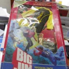 Figuras de acción - Big Jim: BIG JIM MISSION PACK AÑO 1984 MATTEL EN SU CAJA . Lote 36268686