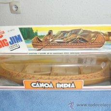 Figuras de acción - Big Jim: CANOA INDIA DE BIG JIM DE LA CASA CONGOST AÑOS 80. Lote 36638627