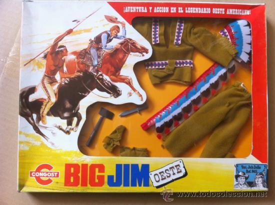 ACCESORIO OESTE BIG JIM (Juguetes - Figuras de Acción - Big Jim)