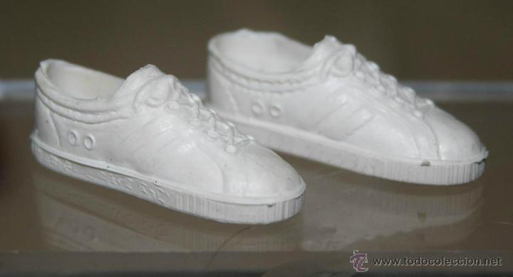 Zapatillas blancas big jim original a os 70 comprar big for Zapatillas paredes anos 70