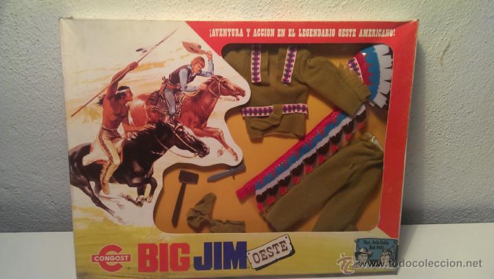 BIG JIM OESTE (Juguetes - Figuras de Acción - Big Jim)