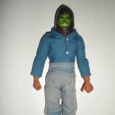 Figuras de acción - Big Jim: MUÑECO CUSTOM ZORAK DOS CARAS DE ESCUADRÓN LOBO CONGOST MATTEL SERIE BIG JIM AÑO 1971. Lote 61819050