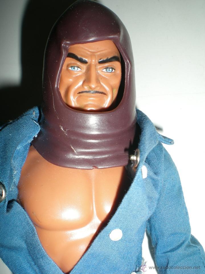 Figuras de acción - Big Jim: muñeco Custom Zorak dos caras de Escuadrón lobo congost mattel Serie Big Jim año 1971 - Foto 3 - 61819050