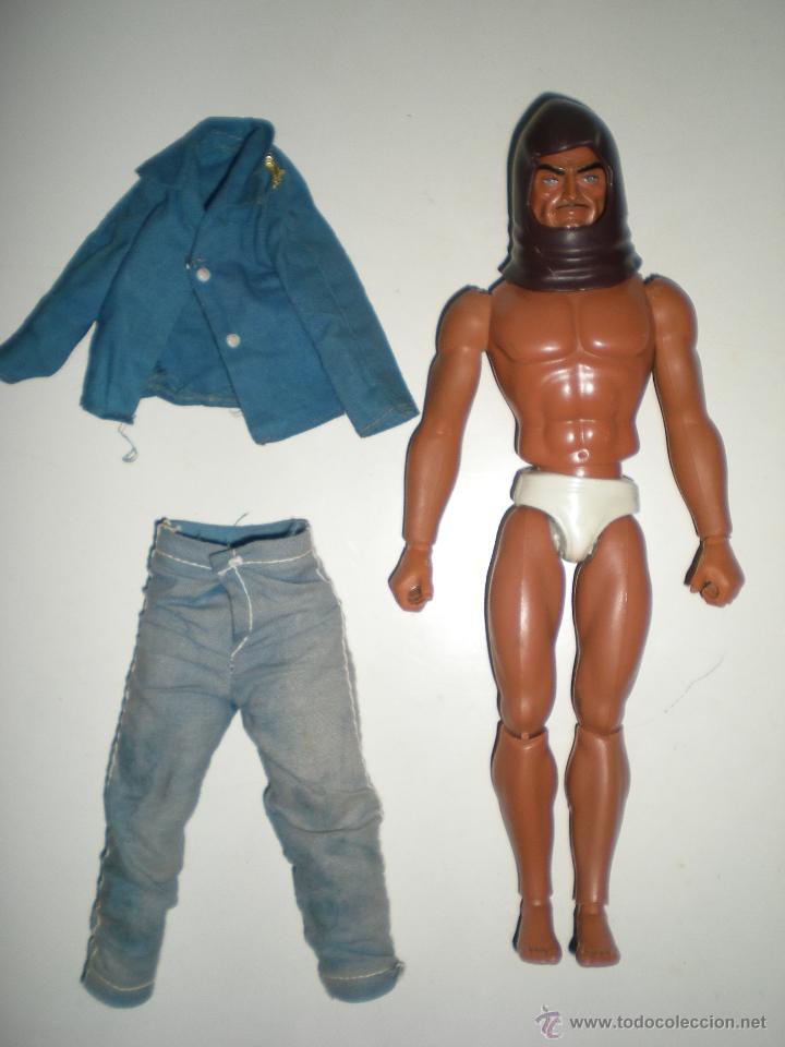 Figuras de acción - Big Jim: muñeco Custom Zorak dos caras de Escuadrón lobo congost mattel Serie Big Jim año 1971 - Foto 4 - 61819050