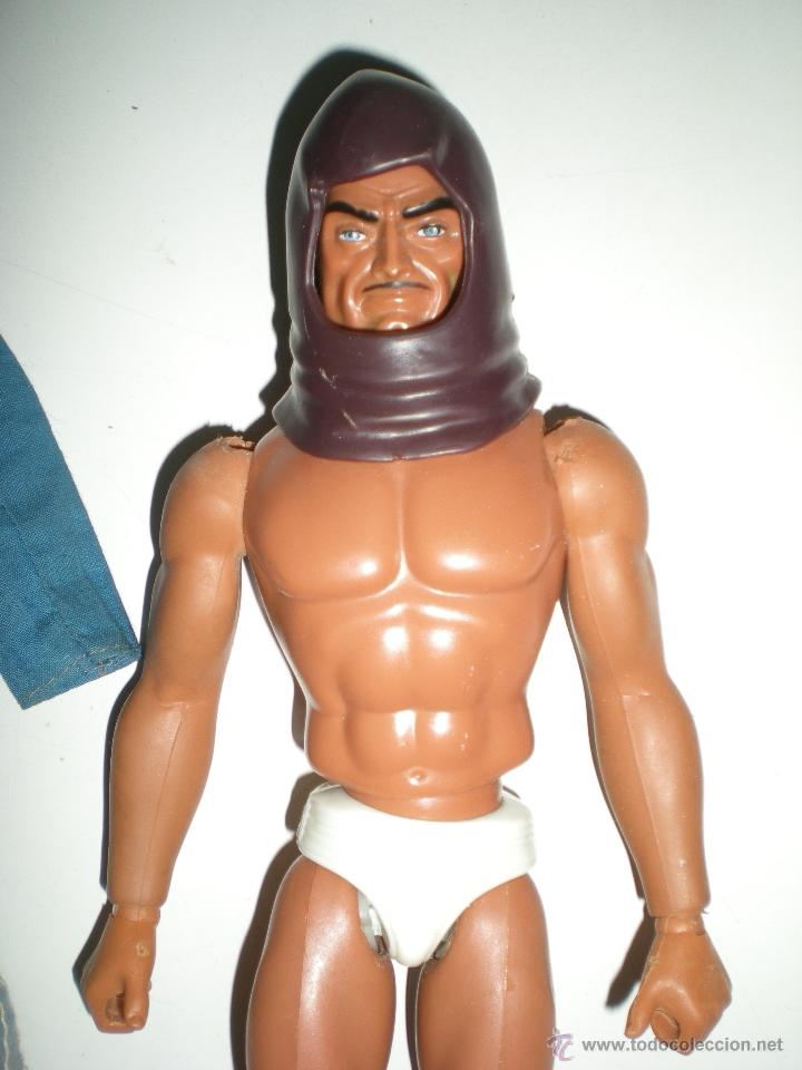 Figuras de acción - Big Jim: muñeco Custom Zorak dos caras de Escuadrón lobo congost mattel Serie Big Jim año 1971 - Foto 5 - 61819050
