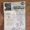 Figuras de acción - Big Jim: BIG JIM INSTRUCCIONES HELICOPTERO REF.9901-0929. Lote 42975495