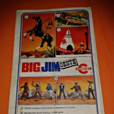 Figuras de acción - Big Jim: BIG JIM / FOLLETO CONGOST. Lote 43687279