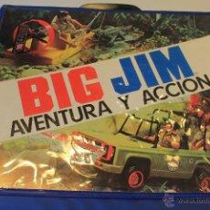 Figuras de acción - Big Jim: MALETÍN BIG JIM, CONTIENE EL CAPITÁN FLINT Y ACCESORIOS. MATTEL. CONGOST. SPAIN. LEER INFORMACIÓN.. Lote 49910407