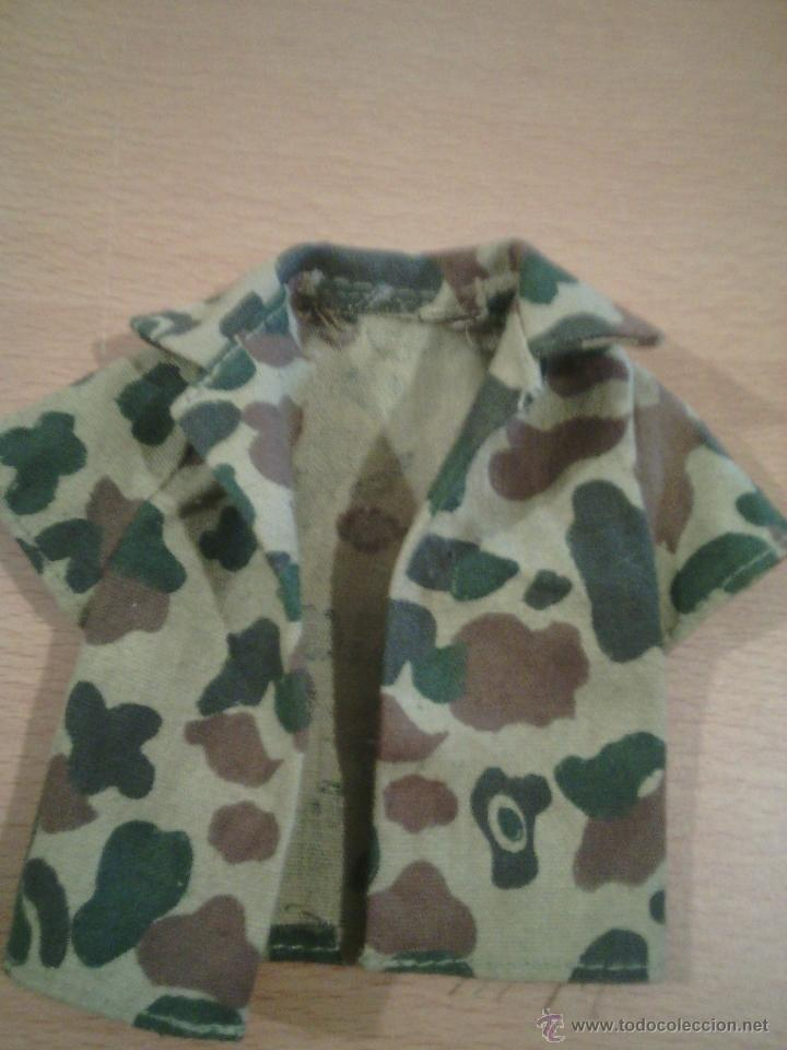 Figuras de acción - Big Jim: conjunto ropa big jim años 70 tipo militar camuflaje - Foto 2 - 53669595