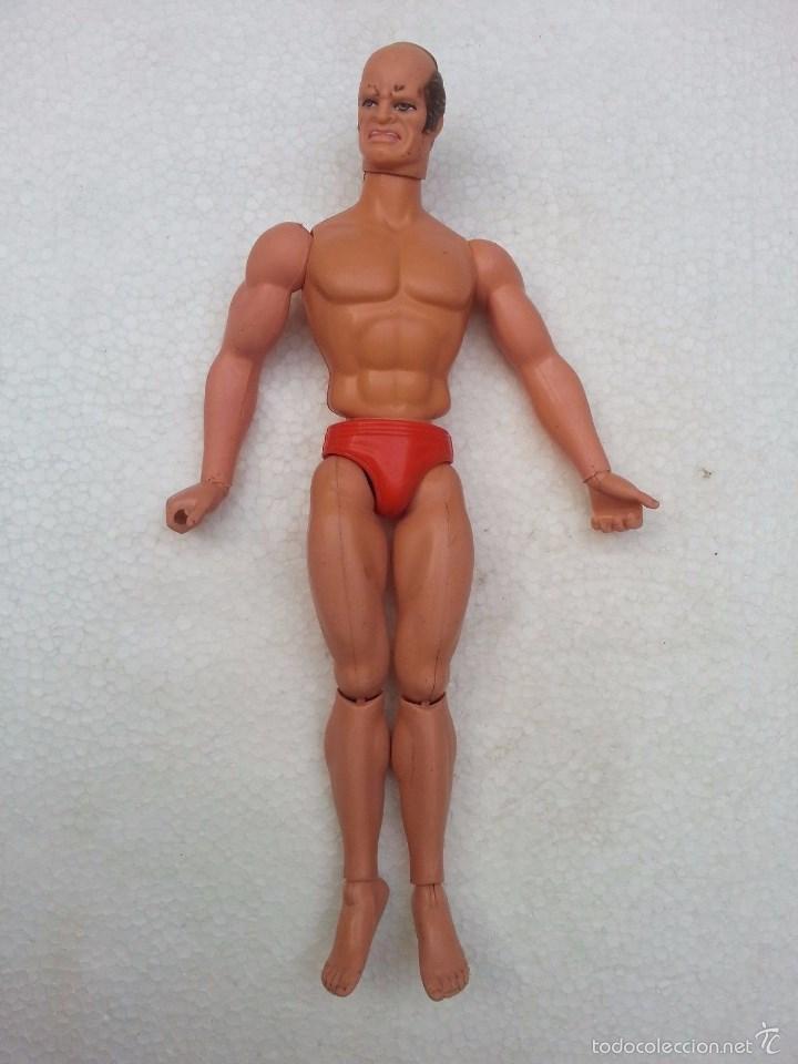 Figuras de acción - Big Jim: FIGURA BIG JIM BARON FANGG MATTEL HECHO EN ITALIA AÑO 1984 - Foto 2 - 55695635